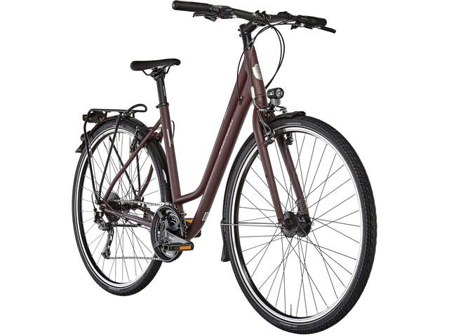 Diamant Elan W Trekkingcykel Wave brun/rød | City